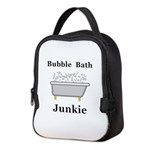 Bubble Bath Junkie Neoprene Lunch Bag