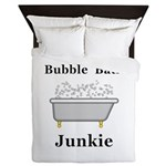 Bubble Bath Junkie Queen Duvet