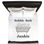 Bubble Bath Junkie King Duvet