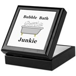 Bubble Bath Junkie Keepsake Box