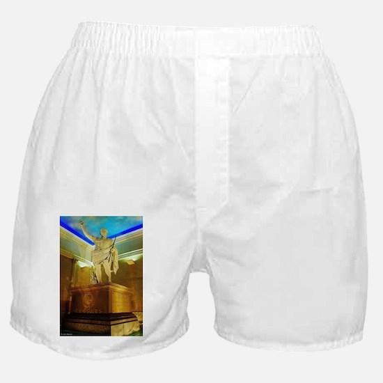 Caesar Augustus Statue Boxer Shorts