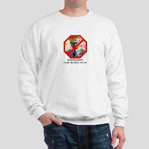 Free Burma Now Sweatshirt