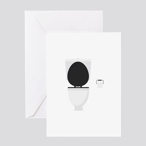 Toilet Greeting Cards