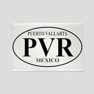 PVR Puerto Vallarta Rectangle Magnet