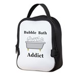 Bubble Bath Addict Neoprene Lunch Bag