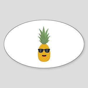 cool pineapple Sticker