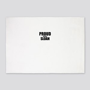 Proud to be SLOAN 5'x7'Area Rug