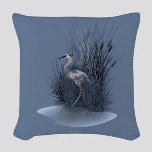 Moonlit Woven Throw Pillow