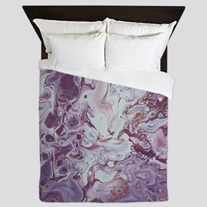 Plum Life Queen Duvet
