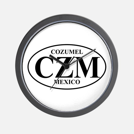 CZM Cozumel Wall Clock