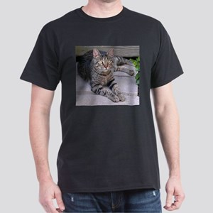Brown Tabby Dark T-Shirt