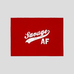 Savage AF 5'x7'Area Rug