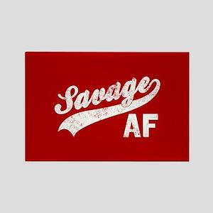 Savage AF Rectangle Magnet