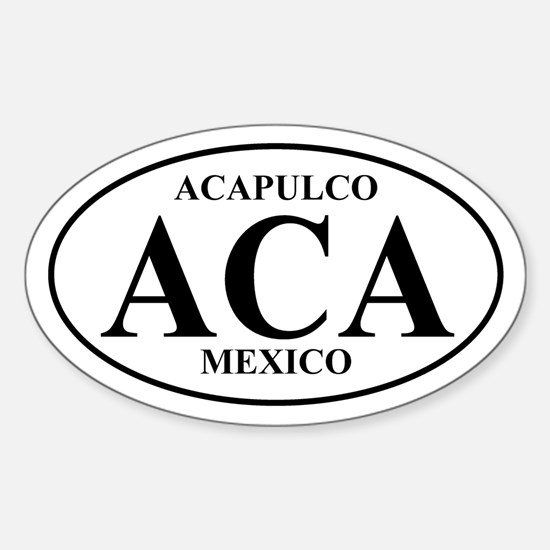ACA Acapulco Oval Decal