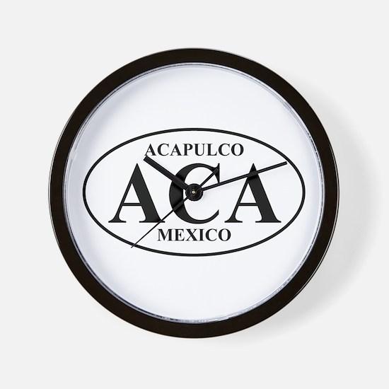 ACA Acapulco Wall Clock