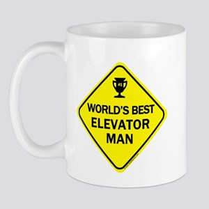 Elevator Man Mug