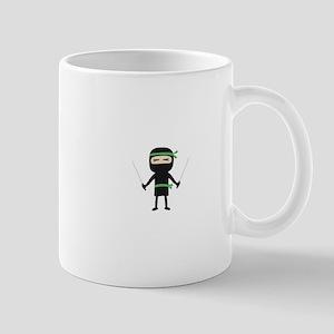 ninja with weapon Mugs