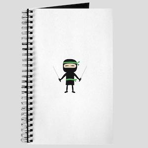 ninja with weapon Journal