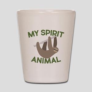 My Spirit Animal Shot Glass