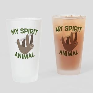 My Spirit Animal Drinking Glass