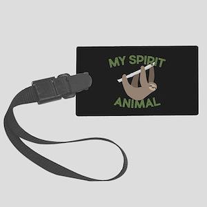 My Spirit Animal Large Luggage Tag