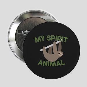 """My Spirit Animal 2.25"""" Button"""