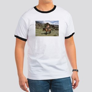 Putin, err..Trump, Bare Chested On a Horse T-Shirt