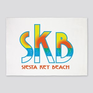 Siesta Key Beach 5'x7'Area Rug