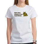 Find a New Friend - Brown Dog Women's T-Shirt