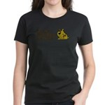 Find a New Friend - Brown Dog Women's Dark T-Shirt