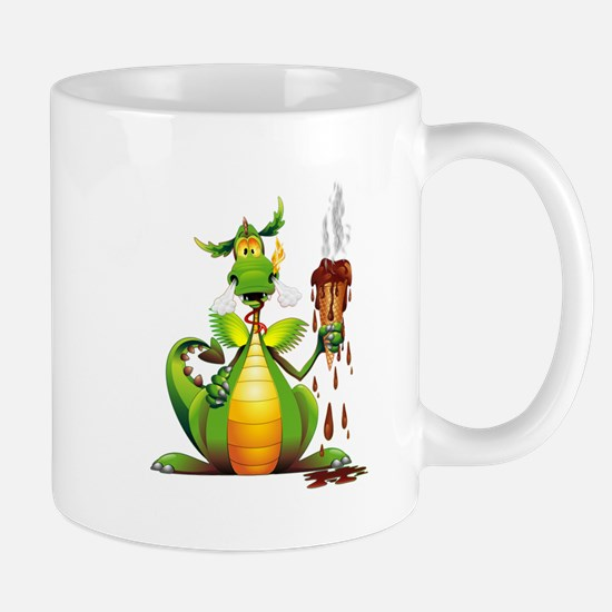 Fun Dragon with Ice Cream Mugs
