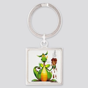 Fun Dragon with Ice Cream Keychains
