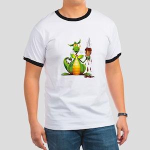 Fun Dragon with Ice Cream T-Shirt