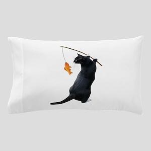 Fishing Cat Pillow Case