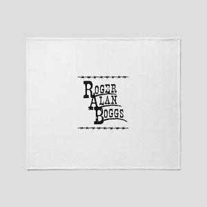 Roger Alan Boggs - Music Throw Blanket