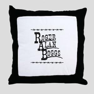 Roger Alan Boggs - Music Throw Pillow