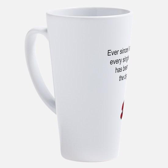 Cute Suck it 17 oz Latte Mug