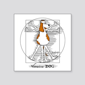 Vitruvian Dog Sticker
