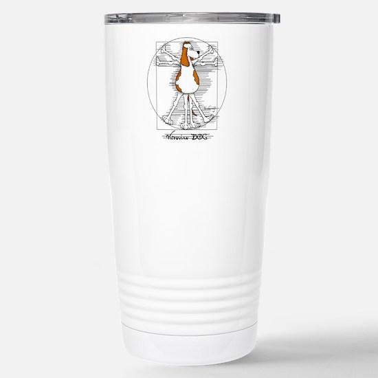 Vitruvian Dog Travel Mug