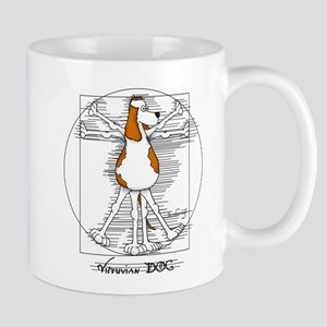 Vitruvian Dog Mugs