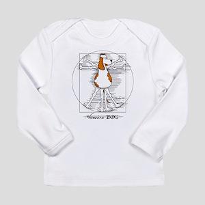 Vitruvian Dog Long Sleeve T-Shirt