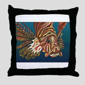 Lion Fish Throw Pillow