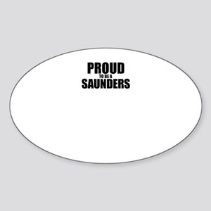 Proud to be SAUNDERS Sticker