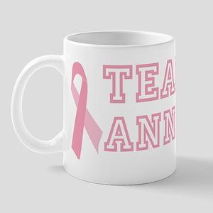 Team Anna - bc awareness Mug