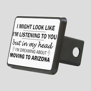 Moving to Arizona Rectangular Hitch Cover