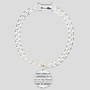 Moving to Arizona Charm Bracelet, One Charm