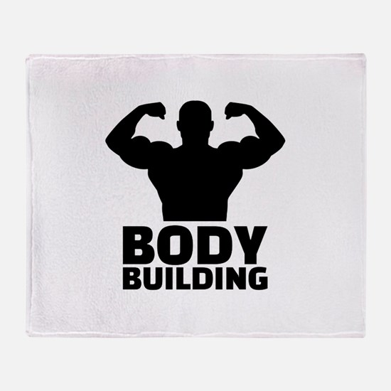 Bodybuilding Throw Blanket
