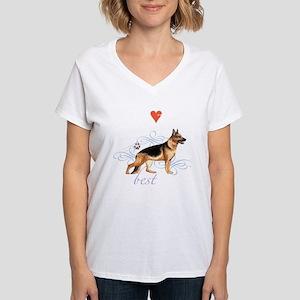 German Shepherd Women's Dark T-Shirt