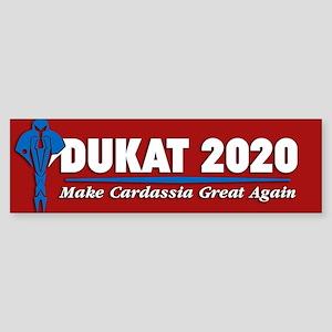 Star Trek Vote Dukat 2020 Sticker (Bumper)