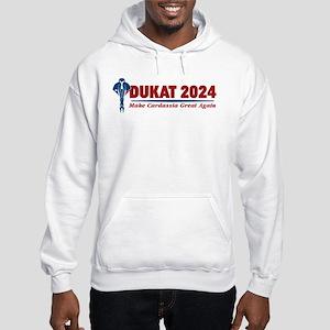 Star Trek Vote Dukat 2020 Hooded Sweatshirt